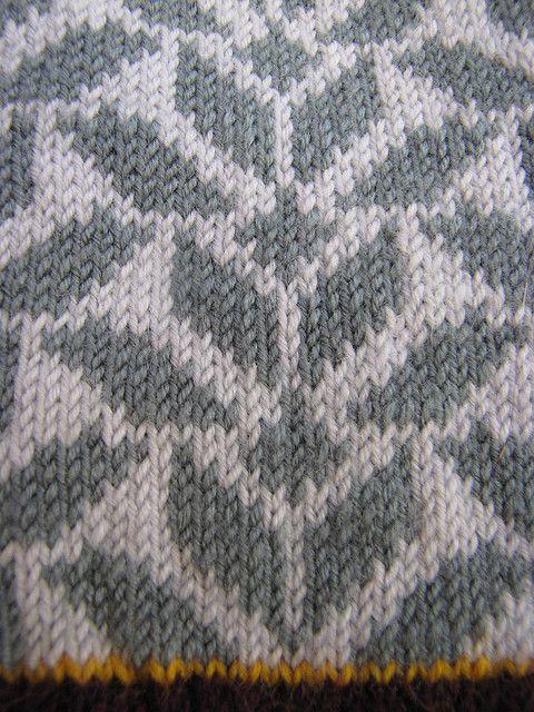 amazing chevron fair isle - very modernist textiles...