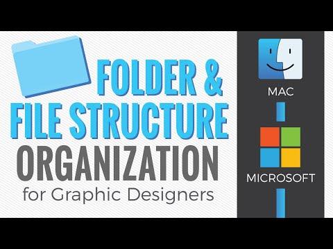 Graphic Design Folder Structure And File Naming Organization Youtube Folder Design Graphic Design Design