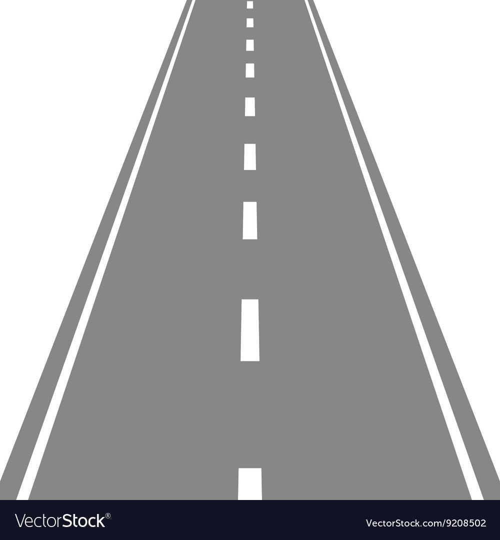 Straight Road Simple Flat Royalty Free Vector Image Affiliate Simple Flat Straight Road Ad Vector Free Free Vector Images Vector Images