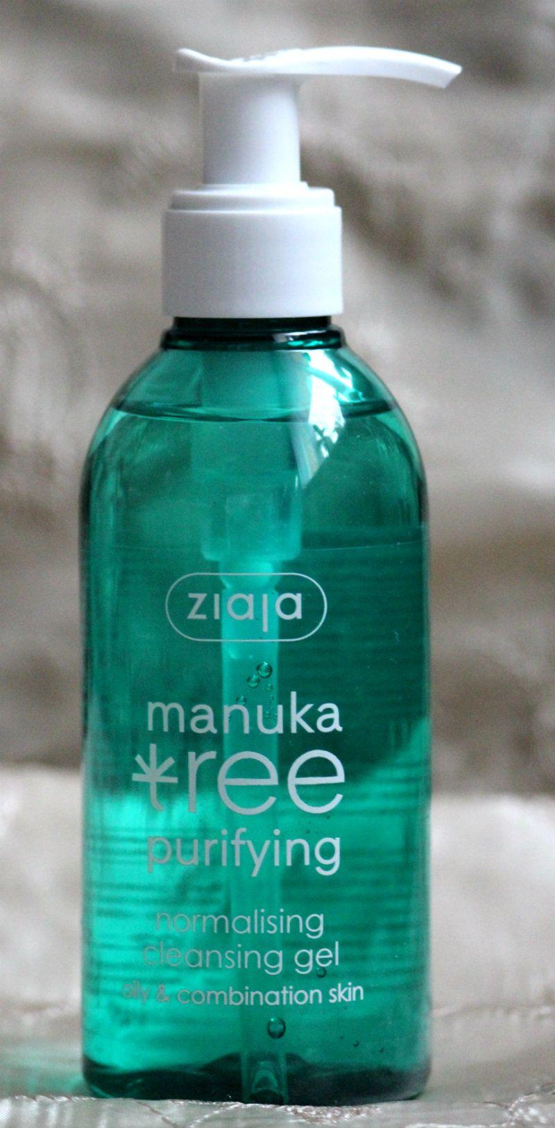 Ziaja Manuka Tree čistiaci gél - KAMzaKRÁSOU.sk #kamzakrasou #cosmetics #ziaja #facegel #manukatree