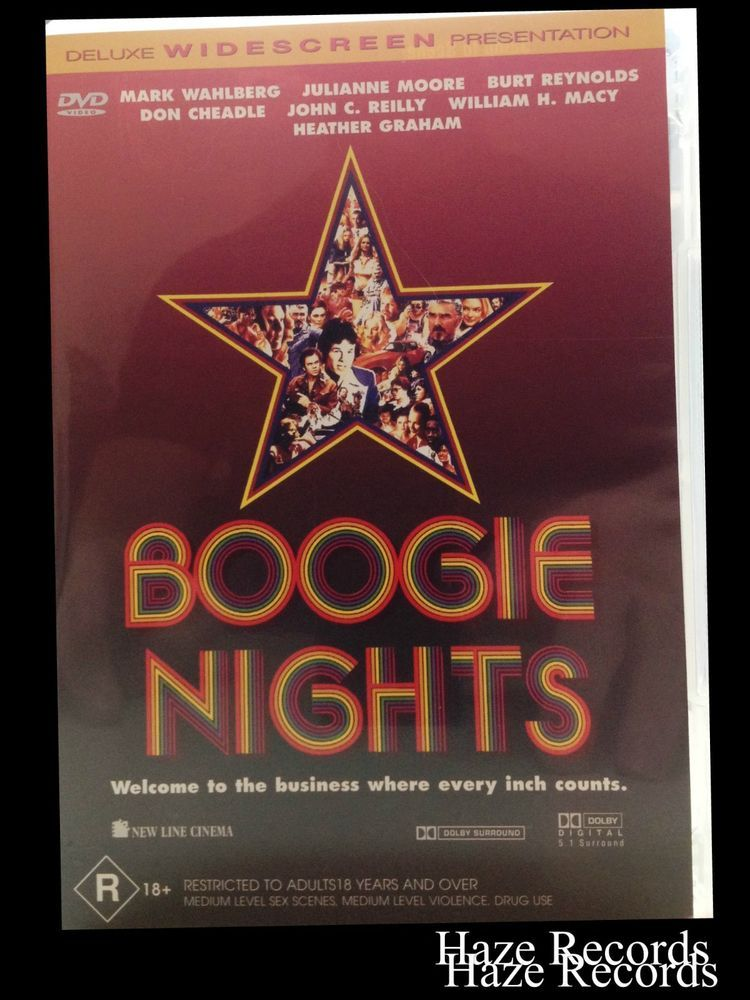 BOOGIE NIGHTS The Movie DVD Brand New & Sealed Mark Wahlberg