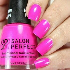 Salon Perfect Neon Pop Collection Back To The Fuchsia Is A