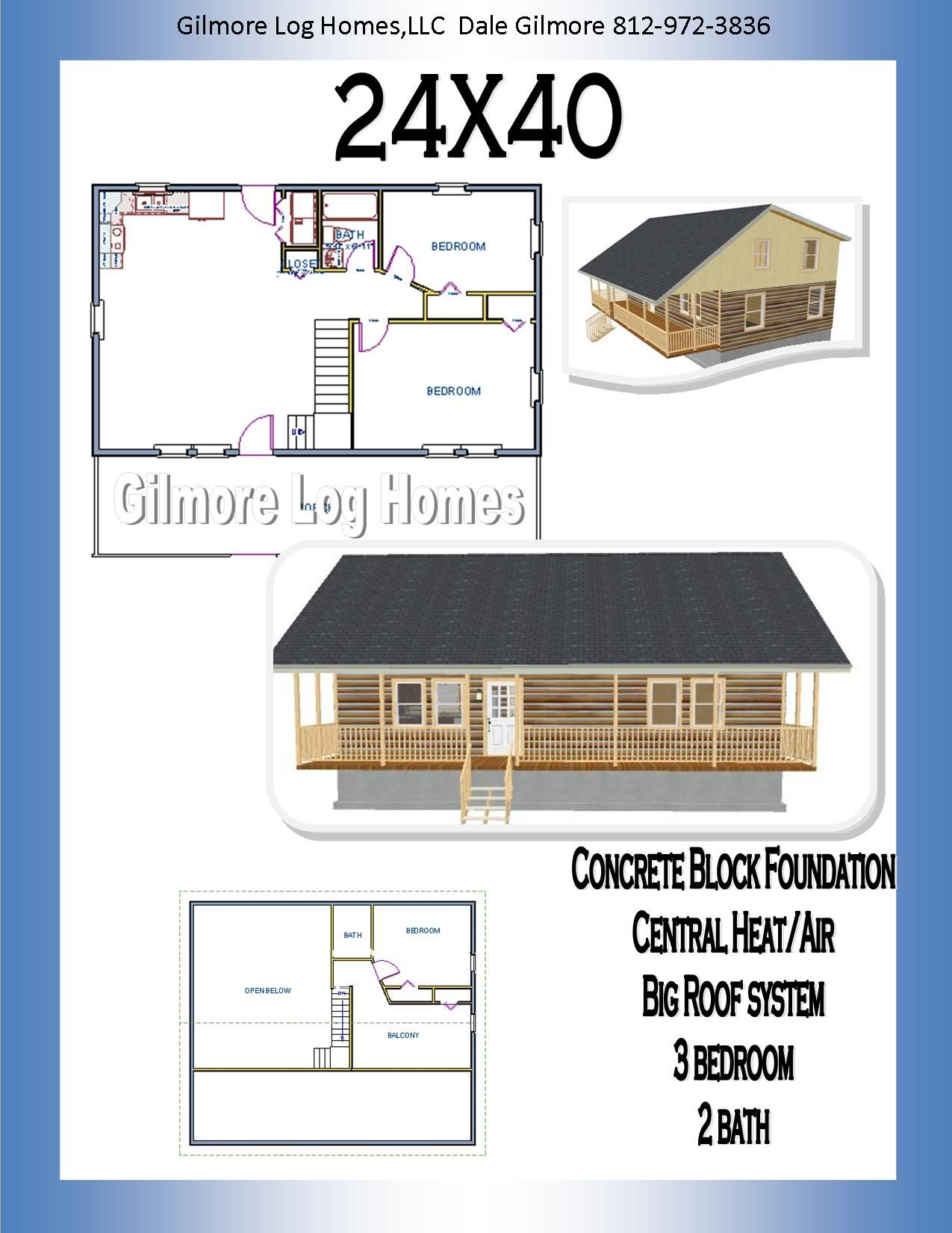 24x40 floor plan trailer and small houses pinterest for 24x40 house plans