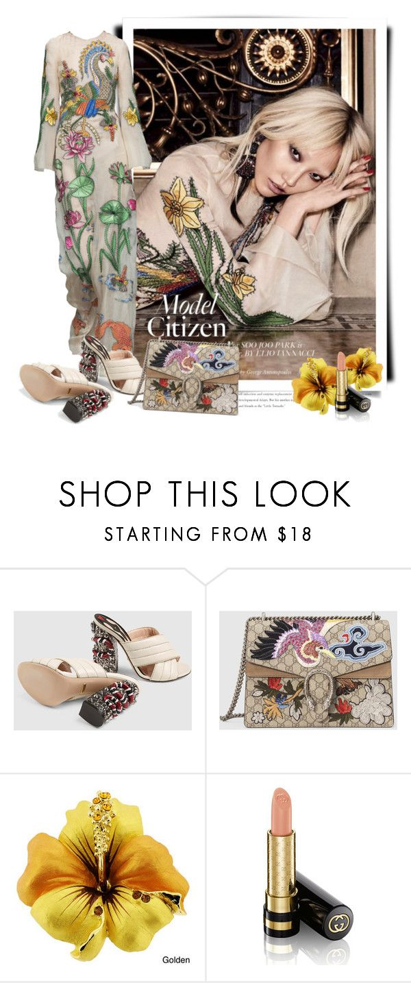"""""""Gucci Spring 2016"""" by sella103 ❤ liked on Polyvore featuring Gucci"""