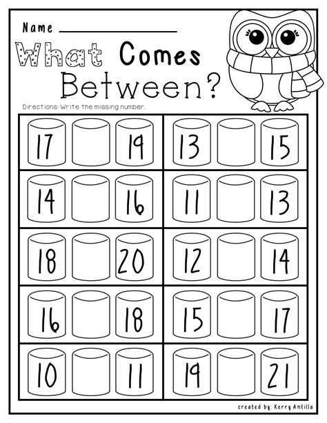 No Prep Winter Math And Literacy Kindergarten (With Images