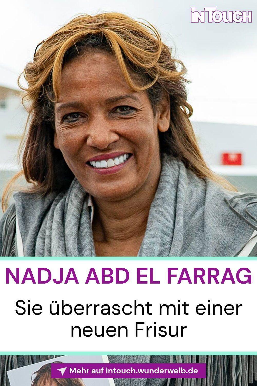 Nadja Abd El Farrag Haar Knaller Sie Uberrascht Mit Einer Neuen Frisur Intouch In 2020 Neue Frisuren Frisuren Promi Frisuren