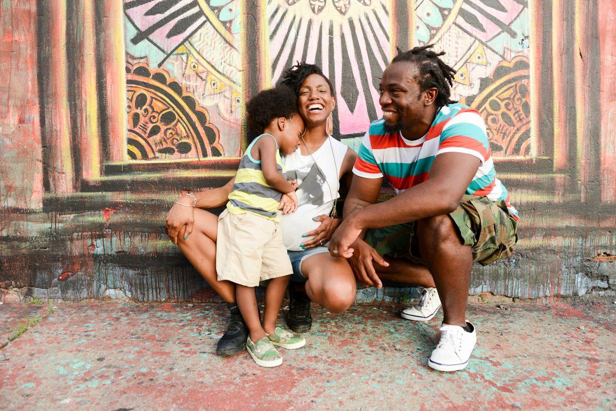 happy family photo, maternity, 2 years old boy, brooklyn, ny