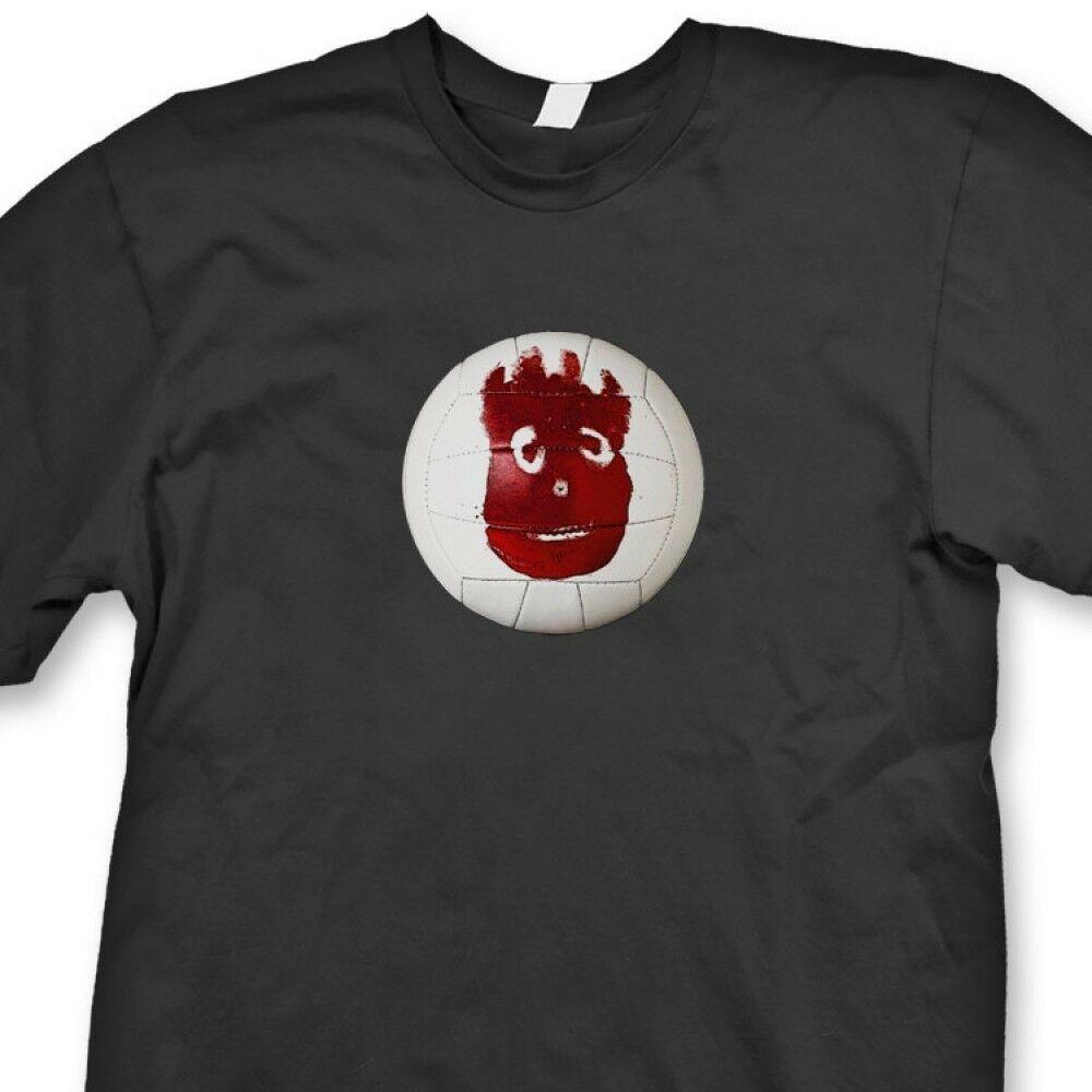Wilson Volleyball Tom Hanks T Shirt Movie Tee Castaway Tee Shirt Movie Tees Tee Shirts Geek Shirts