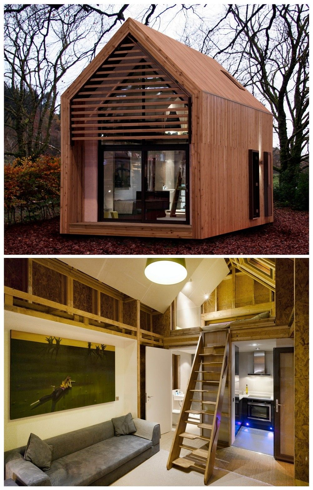 Dwelle, Minimalist House Prefabs. Modern tiny house