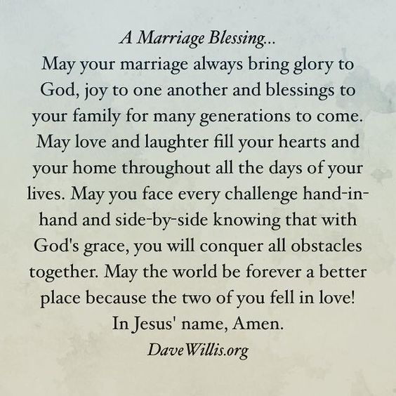 A Marriage Blessing Love Pinterest Marriage Wedding And