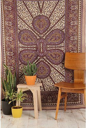 tapestry and its purple!!