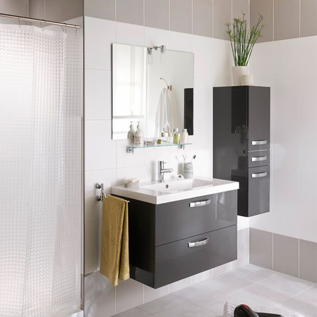 pingl par techno conseil bain douche sur meuble salle de bain pinterest lapeyre salle de. Black Bedroom Furniture Sets. Home Design Ideas