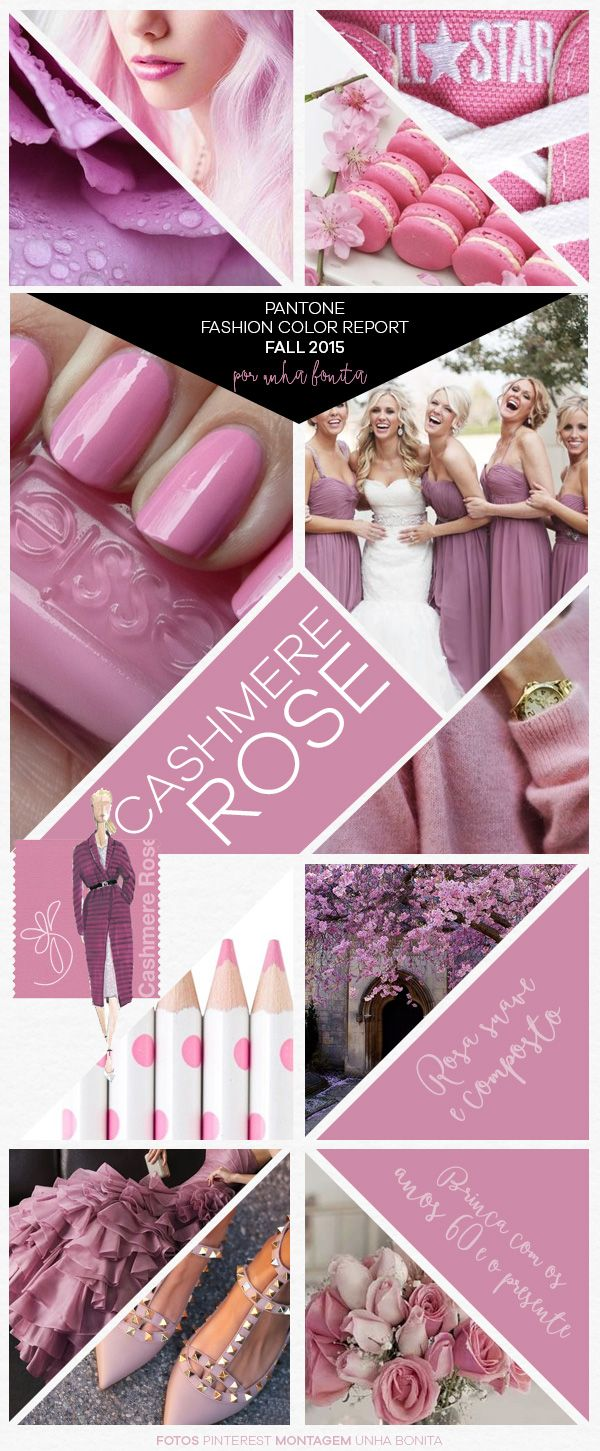 Pantone Fashion Color Report Fall 2015 Cashmere Rose | Pinterest ...