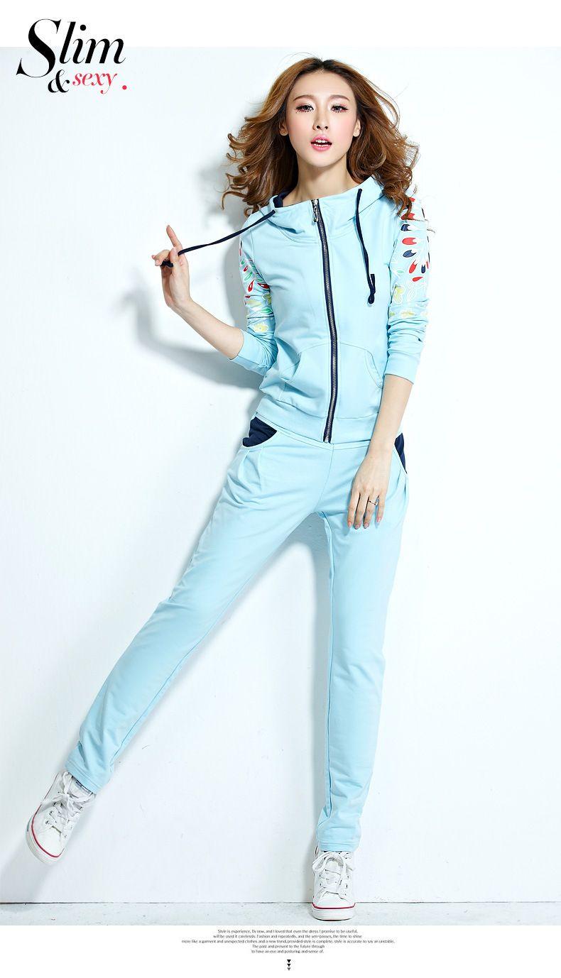 27f7472a2 Aliexpress.com  Comprar 2015 nuevas mujeres de lana gruesa con capucha  traje deportivo con