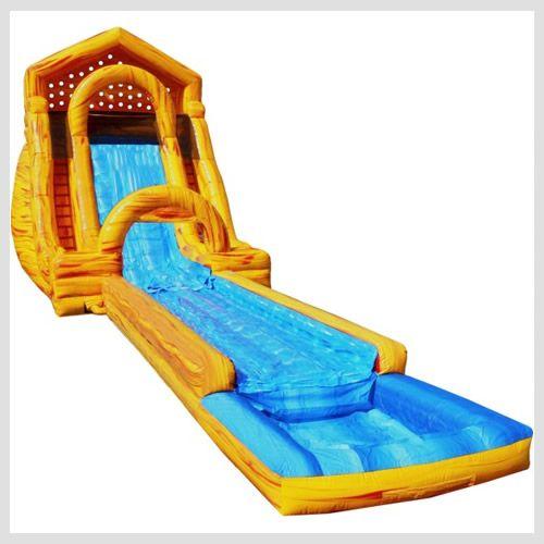 25' Mega Splash Slide | Riley s birthday | Water slide