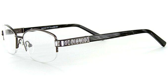 "1d183f1f803 Aloha Eyewear Women s ""Rainier"" Optical-Quality RX-Able Oval Frames  50x18x135mm Review"