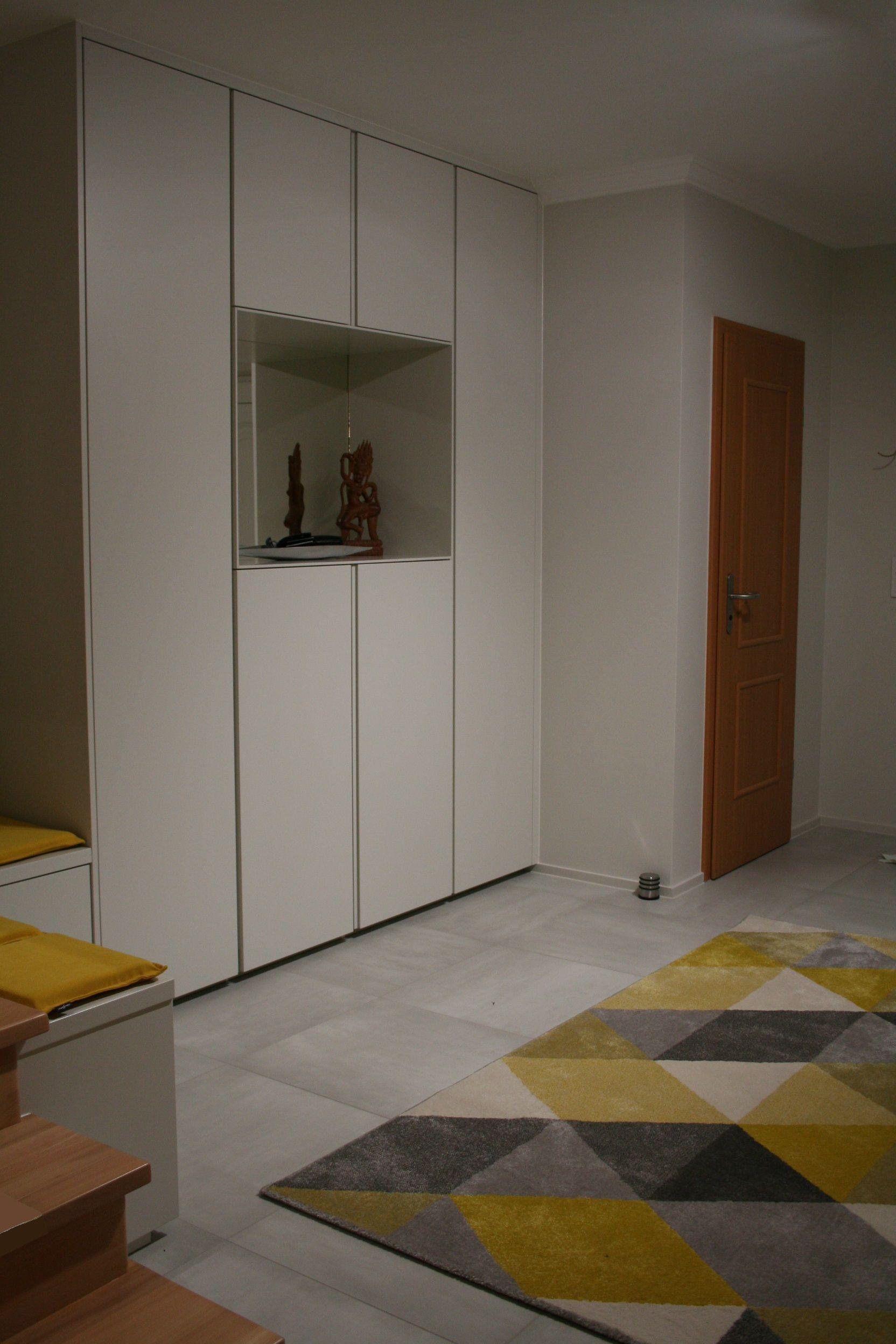 Luxembourg Rangement Hall Entree Contemporain Couleur Laque Agencement Design Bygconcept Rangement Design Hall