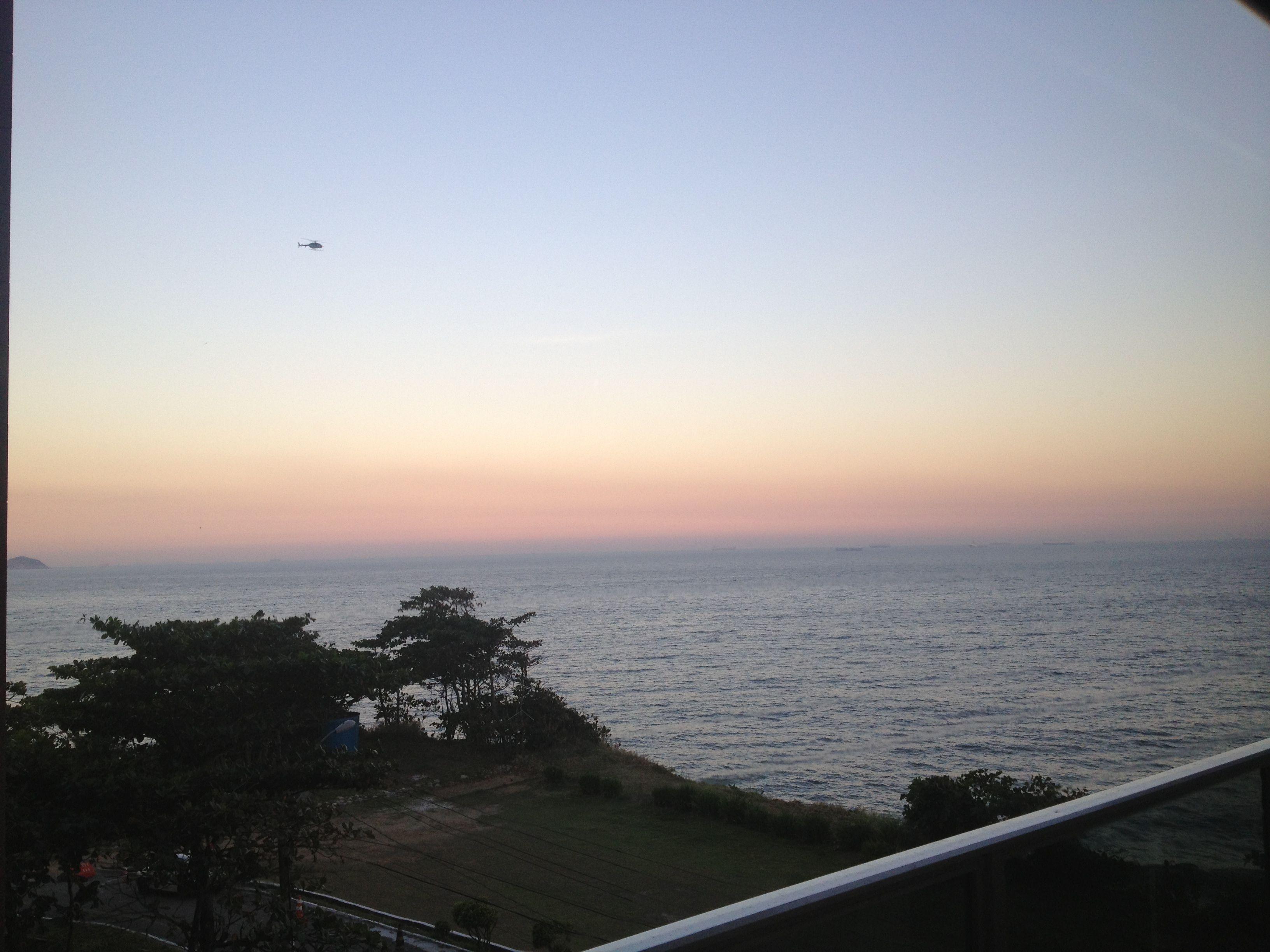 Por do sol praia do Diabo RJ