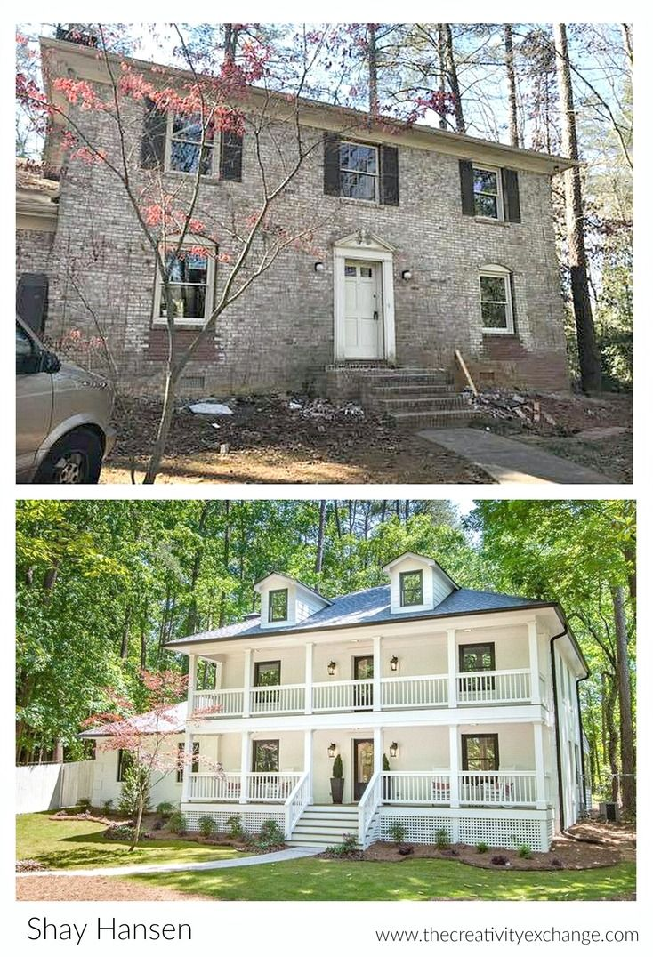 Amazing Before And After Home Exterior Interior Renovation