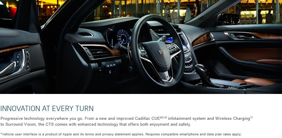 Innovation at every turn  A new and improved Cadillac CUE