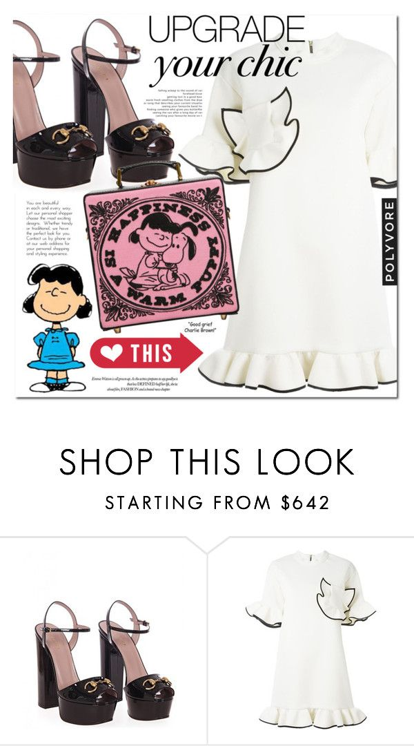 """""""Lucy's Choice"""" by monica-dick ❤ liked on Polyvore featuring Gucci, Marni and Olympia Le-Tan"""