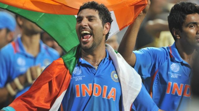 Yuvraj Singh Man Of The Series World Cup 2011 2011 Cricket World Cup Yuvraj Singh World Cup