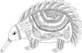 Image Result For Aboriginal Art Animals Colouring In Aboriginal