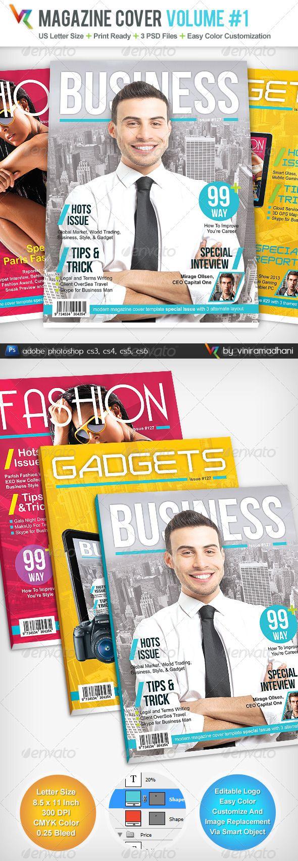 Magazine Cover Volume 1