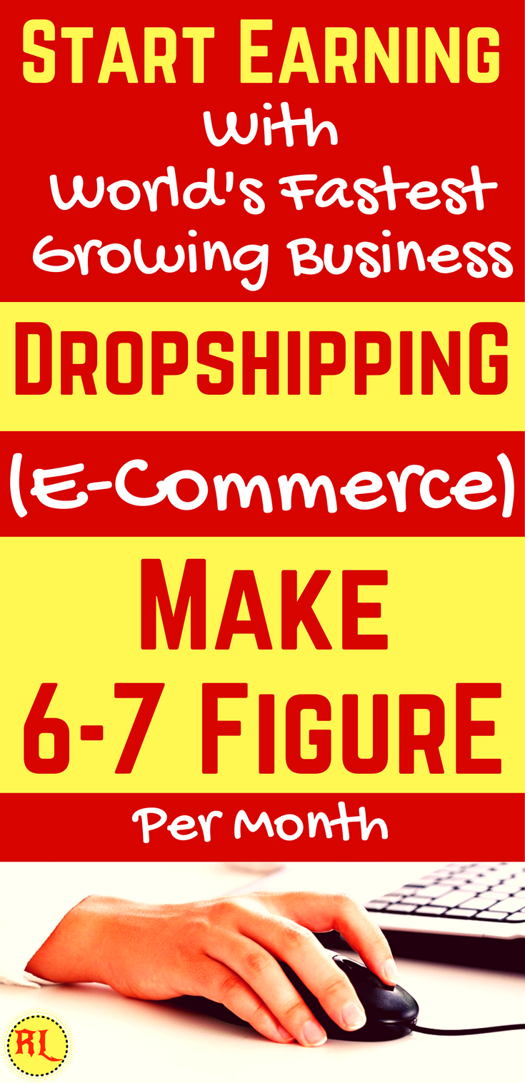 Make Money From Home In 2017 Dropshipping How To Start An Ecommerce Business Even If You Don T Have A Product E Commerce