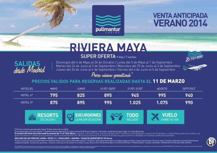 3ª Campaña Venta Anticipada Riviera Maya Verano 2014 ultimo minuto - http://zocotours.com/3a-campana-venta-anticipada-riviera-maya-verano-2014-ultimo-minuto/