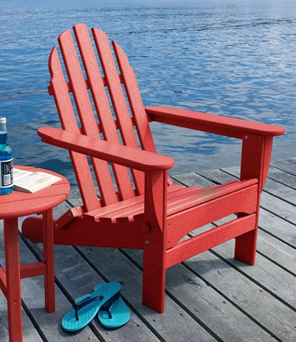 Ll Bean Adirondack Chairs Pride Go Chair All Weather La Maison Pinterest At L Sunset Red
