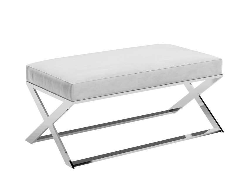 Upholstered Leather Bench Koral By Capital Collection Leather Bench Bench Upholster