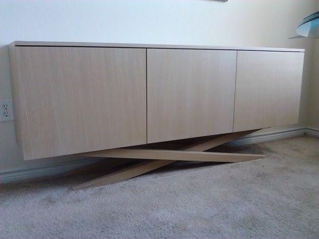 Buffet Sideboard Whitewash And Modern Design