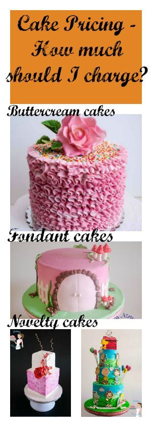 Cake pricing or how much to charge for your cakes can be ...