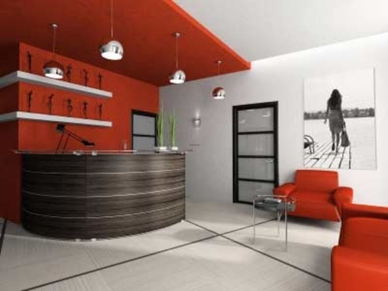 Awesome Popular Ideas Office Lobby Interior Design With Modern