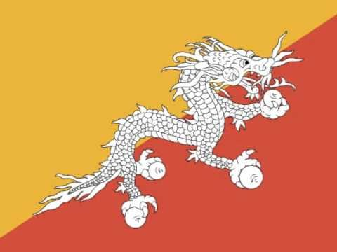 Himno Nacional de Bhutan - YouTube