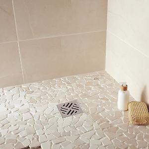 Mosaico Palladiana 30 5 X 30 5 Cm Beige Prezzi E Offerte Online Leroy Merlin Bathroom Shower Stalls Bathroom Shower Tile Shower Remodel