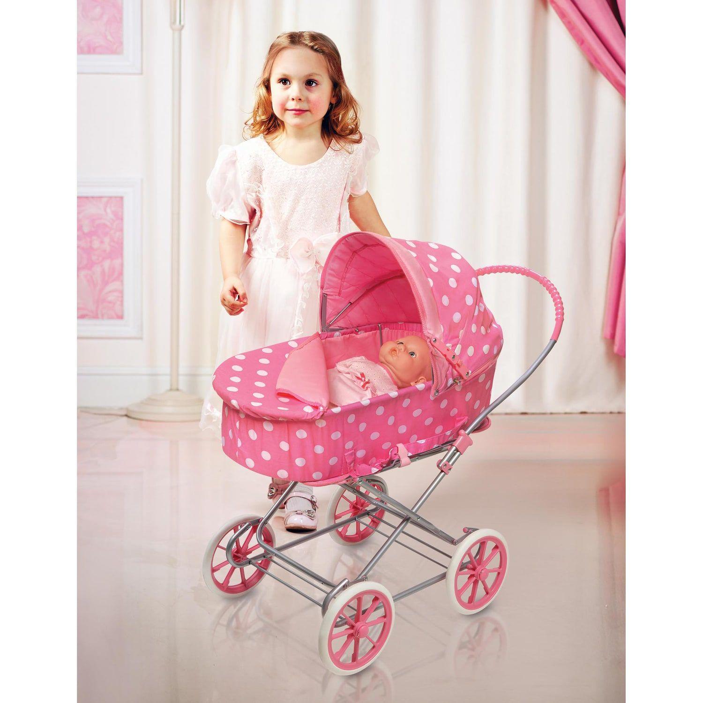 Badger Basket PolkaDot 3in1 Doll Carrier Affiliate