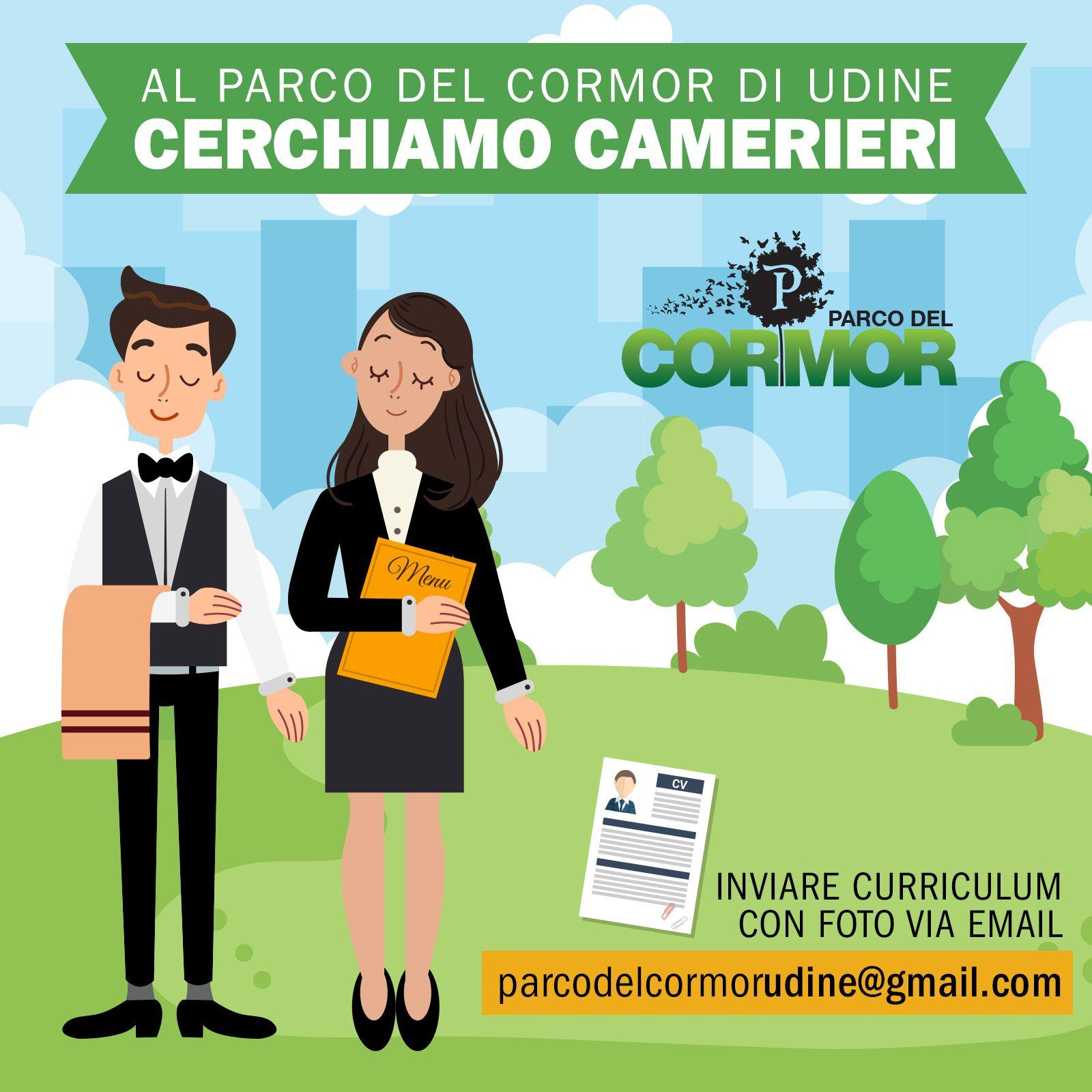 Cerchiamo Camerieri Al Parco Del Cormor Di Udine Cerchiamo