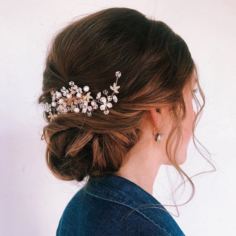 Classic Chignon Wedding Hairstyles: Whether A Classic Chignon, Textured Updo Or A Chic Wedding