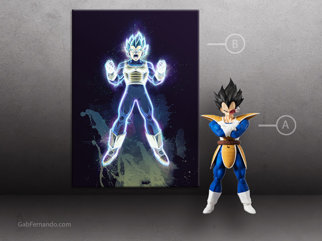 Prince Vegeta | Displate thumbnail
