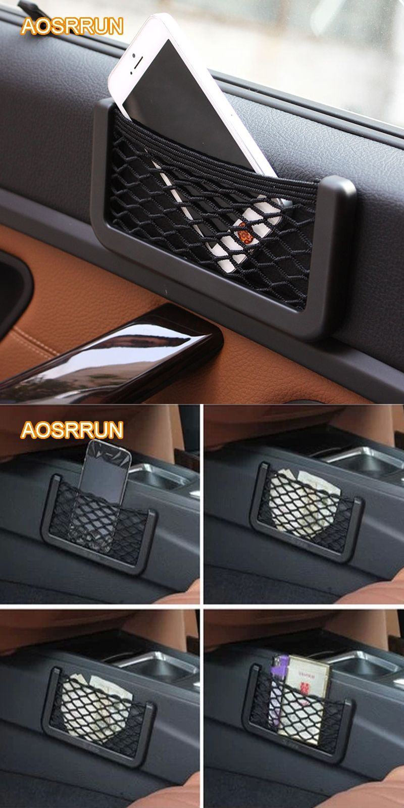 Aosrrun Car Carrying Bag Accessories For Ford Focus 2 3 Kia Ceed Sorento Rio Sportage Chevrolet Cruze Hyundai Solaris Ix35