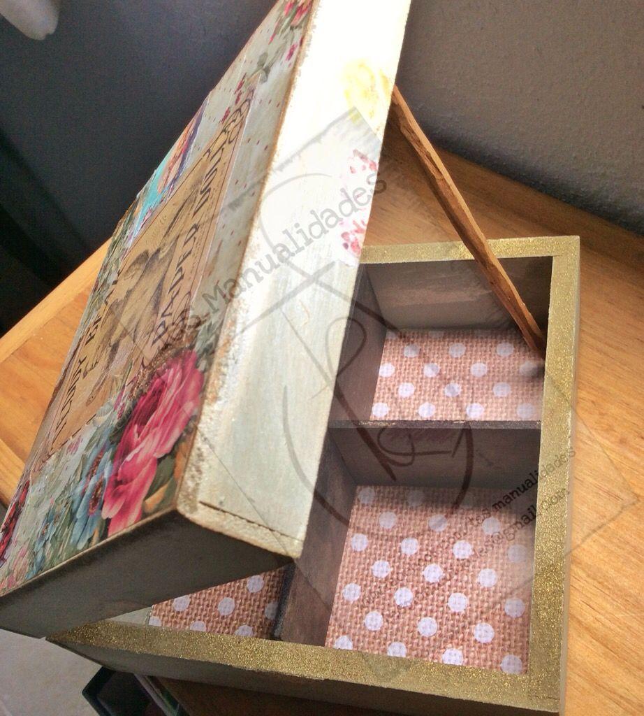 Caja de té con osos. Tea box by TesManualidades