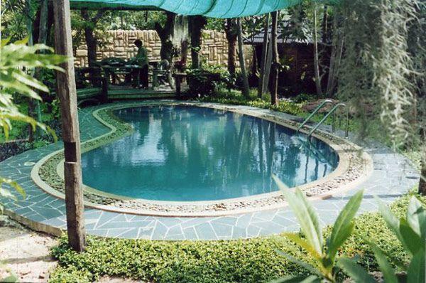 Small pools small fiberglass pool pools pinterest - Small fiberglass pools ...