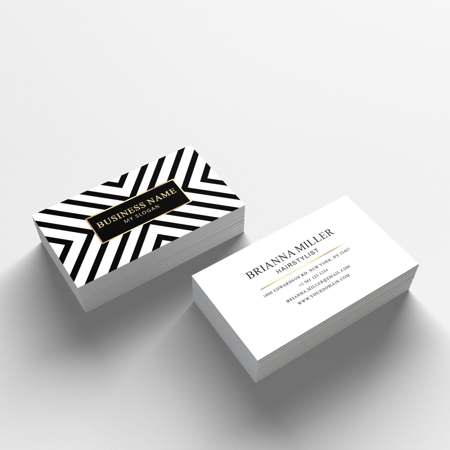 Business Card Template 04 2 Sided Business Card Design Appointment Card For Salon Free Business Card Templates Salon Business Cards Business Cards Creative