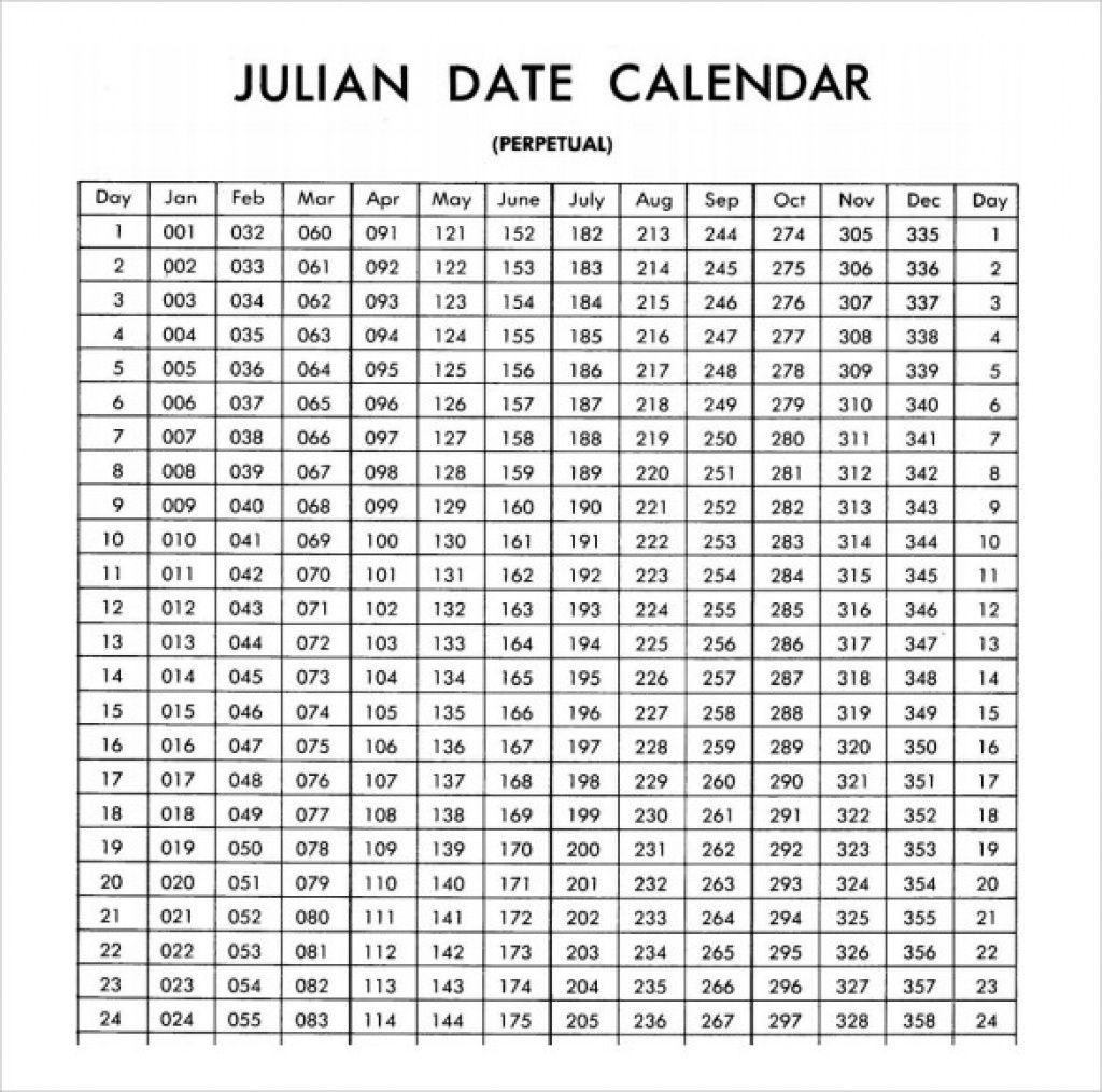 2021 Calendar With Julian Dates - April 2021