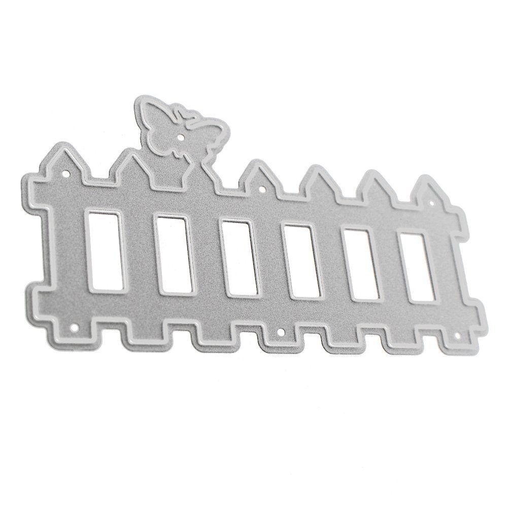Fence Metal Cutting Dies Stencil DIY Scrapbooking Photo Album ...