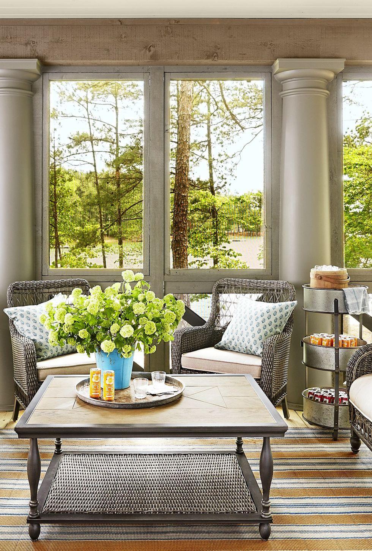 Living Room Interior Design Pdf: 20 Sunroom Decorating Ideas That'll Brighten Your Space In