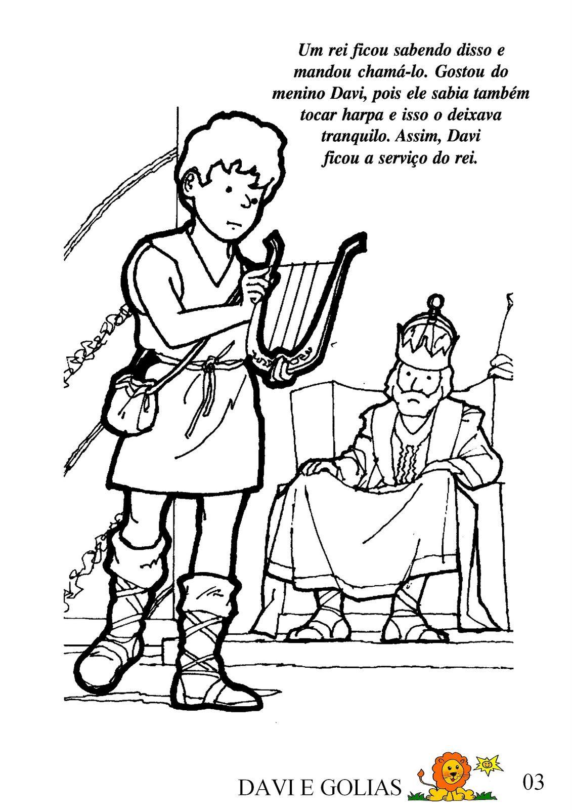 Historia De Davi E Golias Da Biblia Historia De Davi Historia
