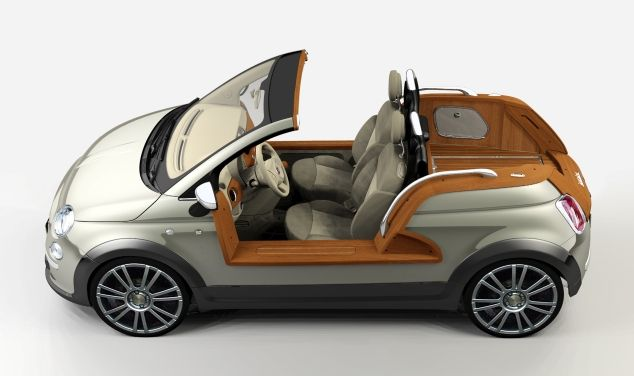 Fiat 500 Tender Two A Redesign Of Clic By Castagna